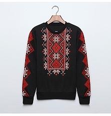 Bluza z azteckim wzorem. Po...