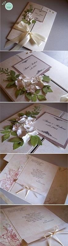 Kartka ślubna, format A4. zuzdesign/facebook