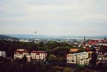 Kraków, widok z Kopca Krakusa