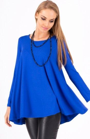 Makadamia 8538 bluzka  Kobieca tunika damska, luźny fason, doskonale tuszuje niedoskonałości