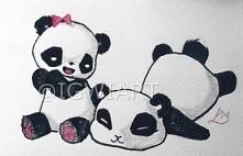 @IGWIART słodkie pandy, kawaii