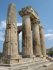 Ruiny doryckiej świątyni Ap...
