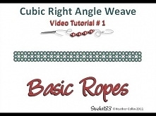 Cubic Right Angle Weave video Tutorial