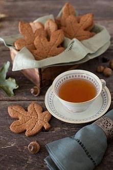 Ciepła herbata i ciasteczka cynamonowe - to jest to! :)