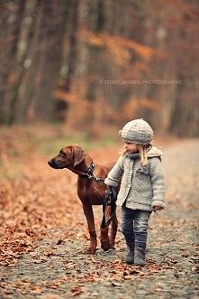 A Wasze dzieci lubią jesiennie spacery? :)