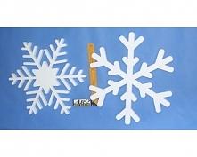 Śnieżynki Styropianowe (Dekoracje Świąteczne)