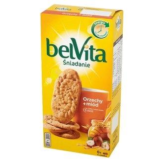 Ciastka Belvita śniadanie Orzechy + miód, Mondalez