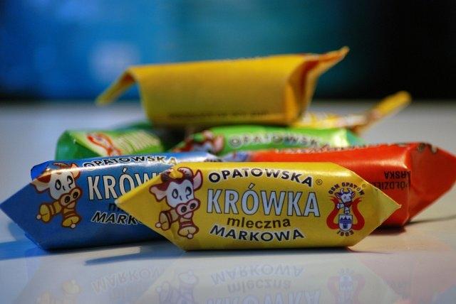 Cukierki Krówka mleczna Opatowska
