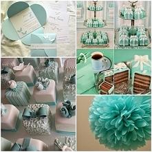 Dziewczyny! Co myślicie o Tiffany blue jako kolorze przewodnim wesela? Ja jes...