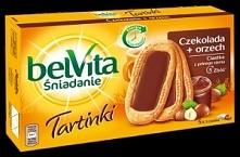 Ciastka Belvita Śniadanie Tartinki, Czekolada + orzech, Mondalez