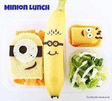 Minionki do lunchboxa
