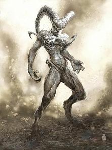 Znaki zodiaku przedstawione jako postaci ze świata mitologicznych tytanów. Ja...