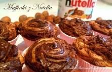 Muffinki z Nutellą - Składn...