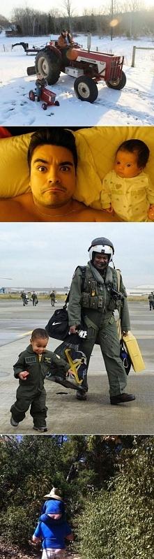 Jak ojciec z synem.