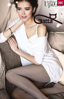 Gatta Up&Go 13 rajstopy Eleganckie damskie rajstopy, wzorzyste, wykonane ...