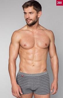 Henderson 33762 Item bokserki Bokserki męskie o klasycznym kroju, wykonane z wysokiej jakości bawełny, przód profilowany zaszewkami