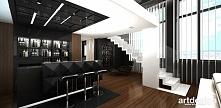 schody na antresolę - nowoczesny apartament | VISIBLY ASSURED (II)