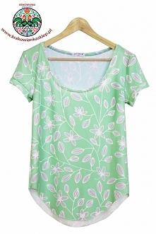 "koszulka ""floral"""