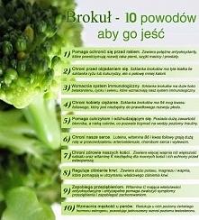 10 powodów aby jeść brokuły :)