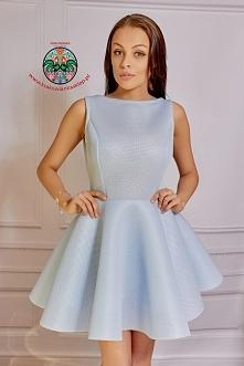 pastelowa sukienka krakowia...