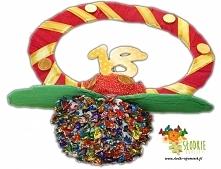 Smoczek z mini cukierków:)