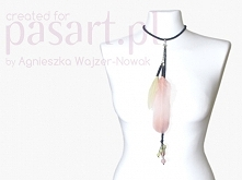 Piękny naszyjnik w stylu BOHO, zrób go sama za grosze:) z kursem DIY - kliknij w zdjęcie
