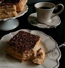 Ciasto Cappuccino (bez pieczenia) przepis po klikn.