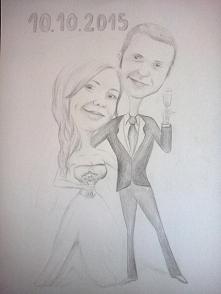 Rysuję karykatury ślubne i portrety, tatuaże na zamówienie ;) Chętnych zapraszam na adres mailowy k-galinska1@wp.pl oraz na lionelle.digart.pl Polecam!