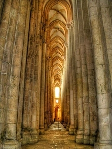 Beautiful Places...Alcobaça Monastery, Portugal, photo by José Paulo