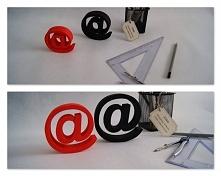 Znaki do postawienia o grubości 2,5 cm, wys. 8,5 oraz 10 cm. Z lekkiego materiału xps. A-Stilo Dekoracje Przestrzenne