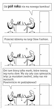 Komiks o slow fashion
