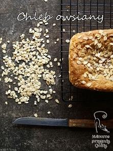 Drożdżowy chleb owsiany