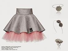 różowy tiul x dziewczęca biżuteria