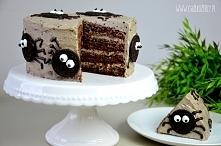 Strasznie smaczne pomysły na słodkie przekąski na Halloween. Sprawdź krok po kroku jak zrobić Tort Oreo z Pająkami :)