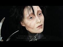 Edward Nożycoręki - hallowenowy makeup <3
