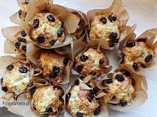 Muffinki z serem pleśniowym...