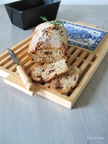 Pyszny chlebek bananowy, przepis po kliknięciu w zdjęcie na blogu.