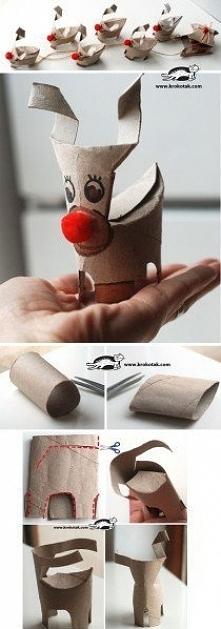 z rolki od papieru