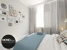 Przytulna sypialnia z wyko...
