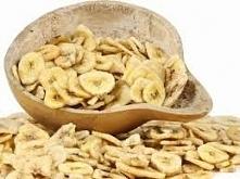 Chipsy bananowe, zdrowy zam...