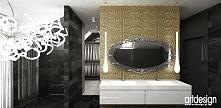 luksusowa łazienka w stylu glamour  | VOICES IN MY HEAD III - wnętrza rezydencji
