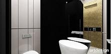 łazienka ze złotą mozaiką | LOOK #07
