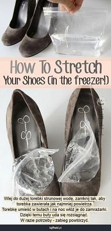 Jak rozciągnąć za małe buty?