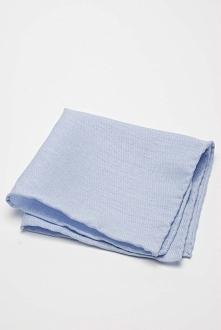 Błękitna poszetka do garnituru