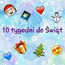 10 tygodni do Świąt ♡♡♡