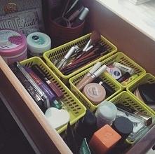 Wreszcie (prawie) wszystko w jednym miejscu :D uwielbiam mieć porządek ♥ #kosmetykównigdydość