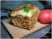 Lasagne z domowym makaronem...