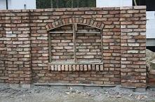 Ogrodzenie z cegły