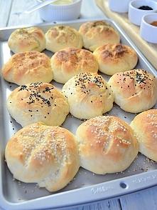 Bułki maślane z przyprawami - idealne na śniadanie i kolację :)