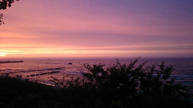 Ustka 2015 lato, fotografia z serii moje zachody słońca, kocham na nie patrzeć :)